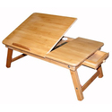 Francois et Mimi Bamboo Multi-Position Adjustable Serving Bed Tray