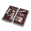 Ohuhu 12 in 1 Stainless Steel Manicure & Pedicure Set