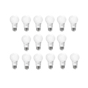 Philips 461145 40 Watt Equivalent Soft White A19 LED Light Bulb, 16-Pack