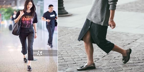 2ef9f696780 Amazon 现有Clarks 其乐真皮女士时尚乐福鞋,属于Raisie Eletta  系列,原价 95.00,现在特价仅需 37.45,且免运费。鞋型很有英伦学院风,搭配当下正火的小西装,会特别 ...