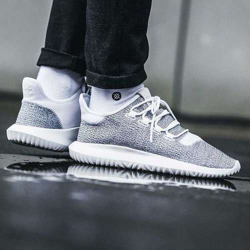 outlet store c1709 23fbf adidas Tubular Shadow Shoes Men s Cloud White Grey  49.99 was  100 50% OFF