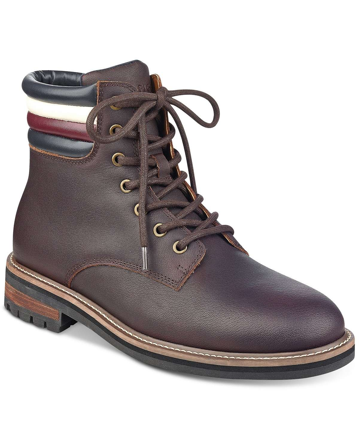c882dbab6361 Tommy Hilfiger Men s Halle Lace-Up Lug Sole Boots  34.96 was  175 80% OFF