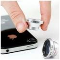 Macro, Wide-Angle & Fisheye Magnetic Smartphone Lenses