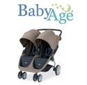 BabyAge: 购Britax 宝得适 B-Agile 双座推车即赠$25礼卡