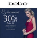 bebe: 30% OFF Sitewide