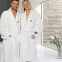 Monogrammed Luxury 100% Turkish Cotton Bathrobe