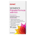 GNC Prenatal Formula with Iron 120 Caplets