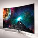 """Samsung 55"""" Curved LED 4K UHD Smart 3D TV"""