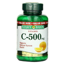 Vitamin C 500 Mg Dietary Supplement Tablets, By Natures Bounty - 250 Tablets