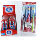 Colgate Maxfresh combo Wisp Peppermint 48 Mini-Brush + 6Pk Full Head Toothbrush