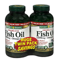 4 Bottles of Nature's Bounty Odorless Fish Oil 1200 mg Dietary Supplement Softgels