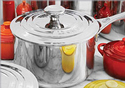 Le Creuset: Free Shipping on All Stainless Steel Cookware