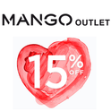MANGO: Extra 15% off Outlet Sale