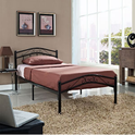 Townhouse Bed Frame in Black