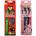 12-Pack Angry Birds Toothbrush