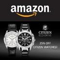 Amazon 亚马逊Citizen 西铁城手表全场 10% OFF 加 额外25% OFF