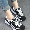 Skechers Women's D'Lites Lace-Up Sneaker