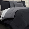 Hotel New York Reversible Down Alternative Comforter Set