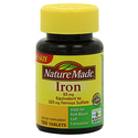 Nature Made Iron 65mg 180 Tablets