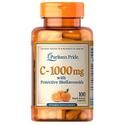 Puritans Pride Vitamin C-1000 mg with Bioflavonoids / 100 Capsules*2