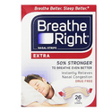 Breathe Right Nasal Strips 26 count