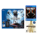 Sony PS4 500GB Star Wars Console + Uncharted + Call of Duty Black Ops II