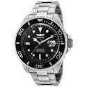 Invicta F0066 Men's Black Dial Steel Bracelet Automatic Dive Watch