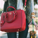 From $168 Red Handbags