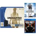 Playstation 4 Uncharted  Bundle+ COD Black Ops III+ Star War Battlefront