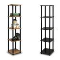 Furinno 5-Tier Square Display Shelf