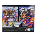 Nintendo Wii U Console With Super Smash Bros Splatoon and Bundle Deluxe Set