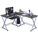 L-Shape Computer Desk PC Wood Laptop Table
