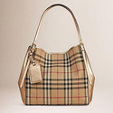 Burberry Small Canter Horseferry Check Tote