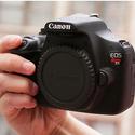 Canon EOS Rebel T5 1200D SLR Camera + 3 Lens 18-55 IS +24GB KIT