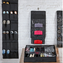 Wexley Home Shoe, Purse, and Jewelry Organizers