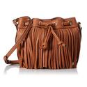 Rebecca Minkoff Fringe Micro Lexi Bucket Cross-Body Bag