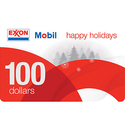$100 Exxon Mobil Gas Gift Card
