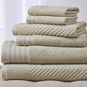 Wexley Home 550 GSM Egyptian Cotton Towel Set (6-Piece)