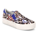 Ash Jungle Printed Leather Slip-On Sneakers