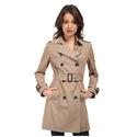 Diane Von Furstenberg Sandrine Trench Coat