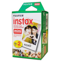 Fujifilm Instax Mini film Twin Pack (White)
