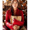Eddie Bauer Women's Ribbed Sleep Cardigan Sweater
