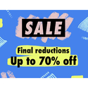 Up to 70% OFF on Select Items
