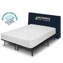 Best Price Mattress Spring Mattress and Metal Platform Bed Frame Set
