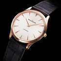 Jaeger LeCoultre Master Ultra Thin Automatic Rose Gold Men's Watch