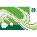 $15 Starbucks Pre-Owned Plastic Gift Card