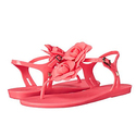 Melissa Shoes Solar Garden Thong Sandal, Pink