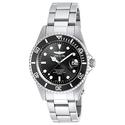 Invicta 8932OB Gent's Pro Diver Black Dial SS Bracelet Dive Watch