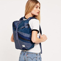 Herschel Supply Co. Post Rubber Backpack, Navy Portal