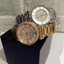 Michael Kors Caitlin Silver Crystal Pave Dial Ladies Watch